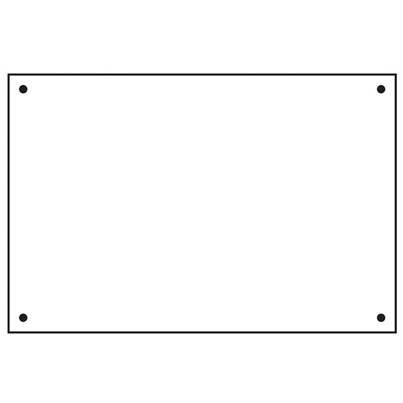 Scan Rigid Backing Board - FMX 600 x 400mm