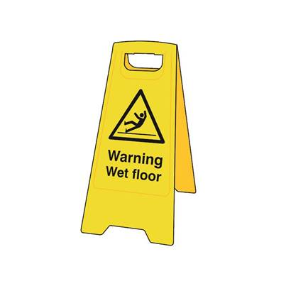 Scan Heavy-Duty 'A' Board: Warning Wet Floor