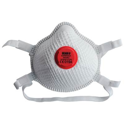 Scan Moulded Valved Masks FFP3 with Mesh (Pack 2)
