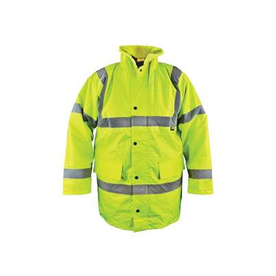 Scan Hi-Vis Yellow Motorway Jacket