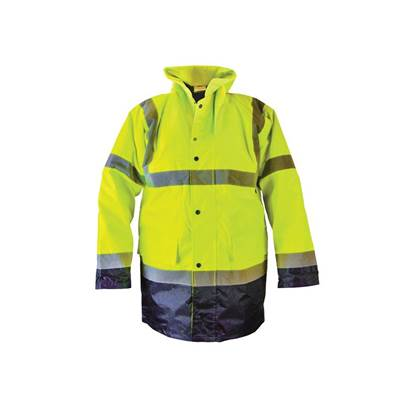 Scan Hi-Vis Yellow/Black Motorway Jacket