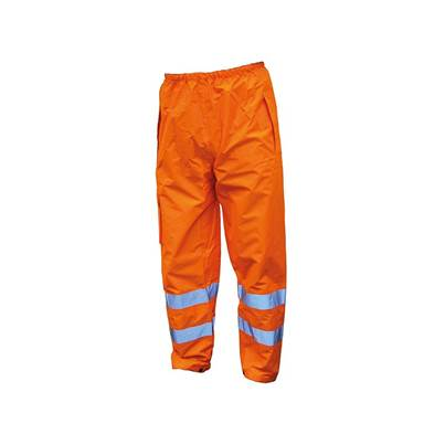 Scan Hi-Vis Orange Motorway Trousers