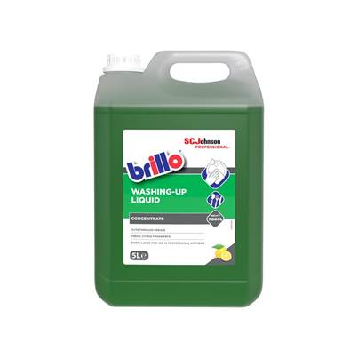 SC Johnson Professional Brillo® Washing-Up Liquid 5 litre