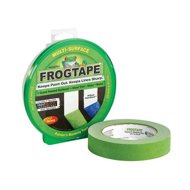 Shurtape FrogTape® Multi-Surface Masking Tape 24mm x 41.1m - Hang Pack