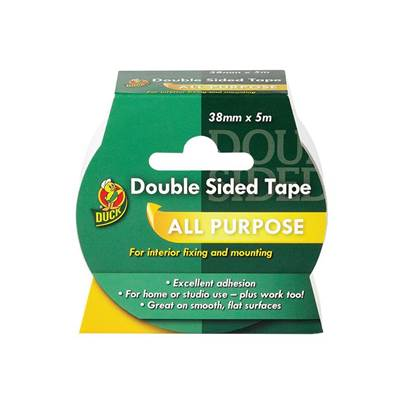 Shurtape Duck Tape® Double-Sided Tape 38mm x 5m
