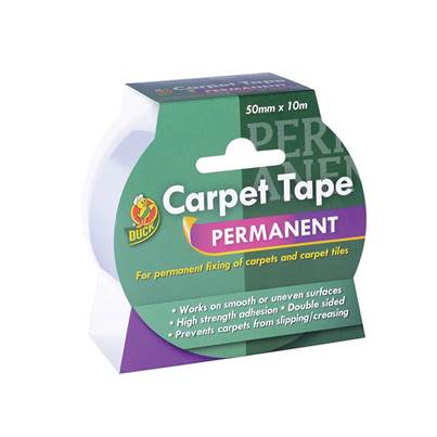 Duck Tape® Permanent Carpet Tape 50mm x 10m