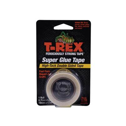 Shurtape T-REX® Double-Sided Superglue Tape 19mm x 4.5m