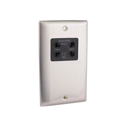 SMJ Dual Voltage Shaver Socket