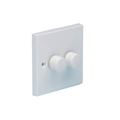 SMJ 2-Way Dimmer Switch 400W 2-Gang Clam Pack