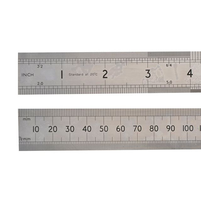 STANLEY® 64SR Chrome Rule 1m/39in