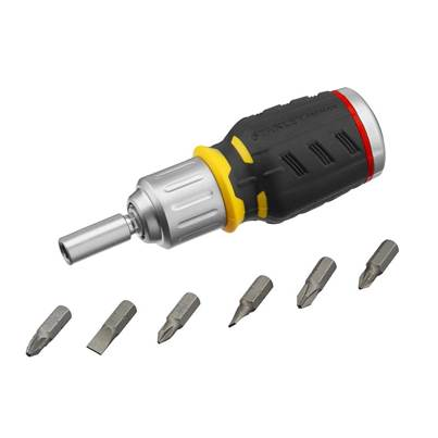 Stanley Tools FatMax® Ratchet Screwdriver Stubby