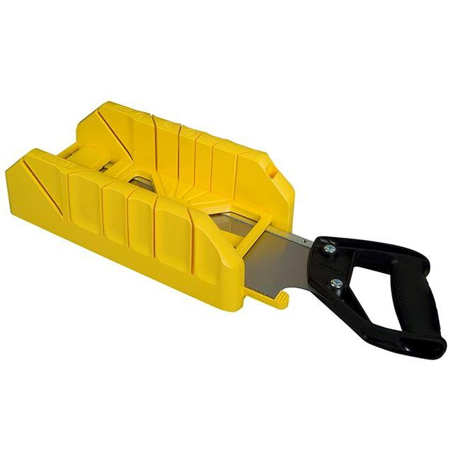 Stanley Tools Saw Storage Mitre Box with Saw