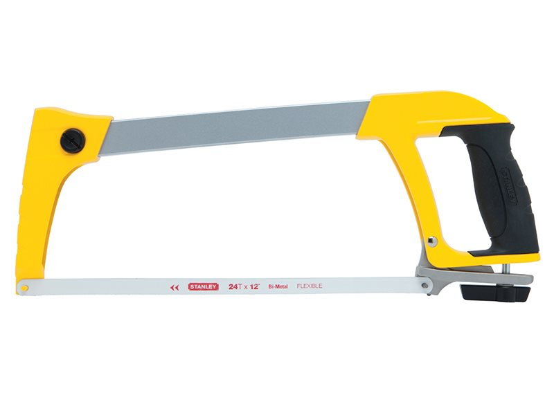Stanley Tools DynaGrip™ Heavy-Duty Hacksaw 300mm (12in)