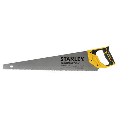 Stanley Tools Universal Tradecut Handsaw 550mm (22in) 7 TPI