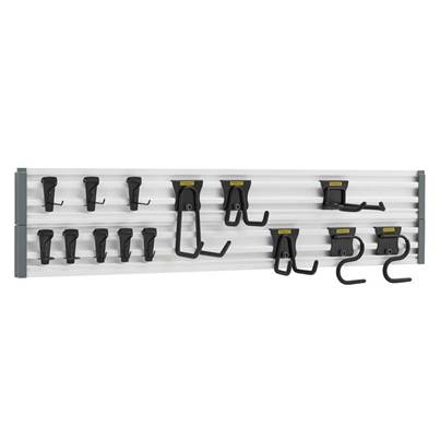 Stanley Tools Track Wall System Starter Kit, 20 Piece
