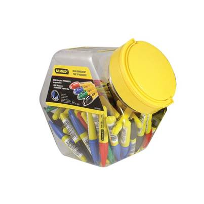 Stanley Tools Mini Fine Tip Markers