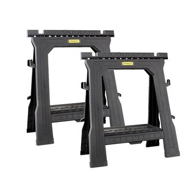 Stanley Tools Folding Sawhorses (Twin Pack)