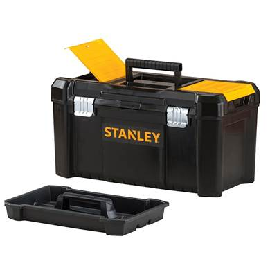 Stanley Tools Basic Toolbox With Organiser Top