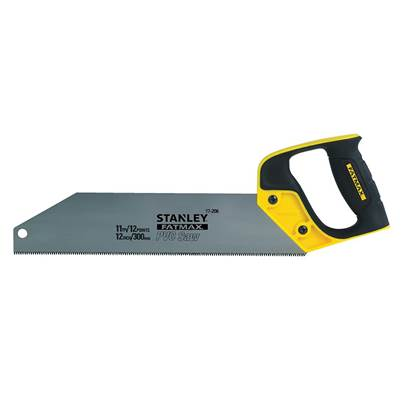 Stanley Tools FatMax® PVC & Plastic Saw 300mm (12in) 11 TPI