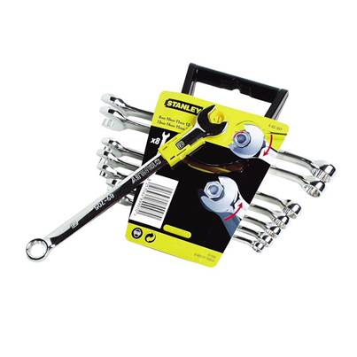 Stanley Tools Accelerator Wrench Set, 8 Piece
