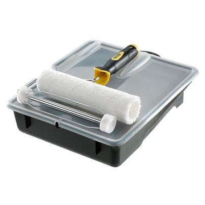 Stanley Tools Microfibre Roller Set 230 x 38mm (9 x 1.1/2in)
