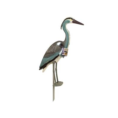 STV Pest-Free Living Heron Garden Ornament / Bird Deterrent