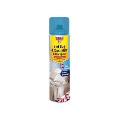 STV Pest-Free Living Zero In Bed Bug Killer Spray 300ml