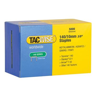 Tacwise 140 Series Galvanised Staples