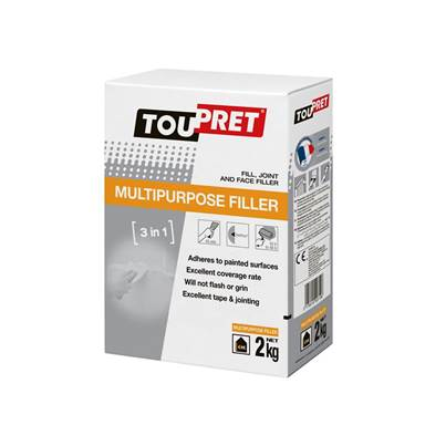 Toupret Multipurpose Filler 2kg