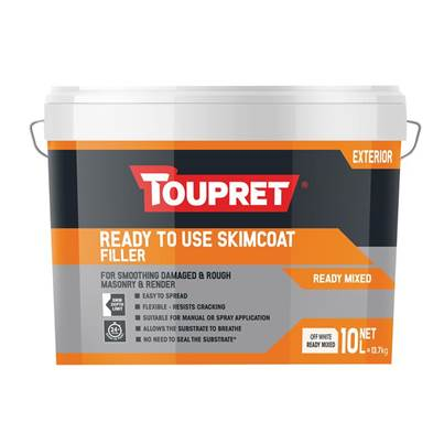 Toupret Decorator's Skimcoat Filler 10kg