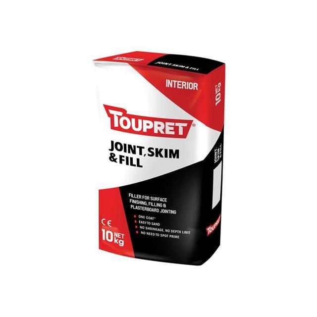 Toupret Joint Skim & Fill 10kg