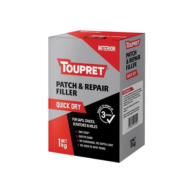 Toupret Quick Dry Patch & Repair 1kg