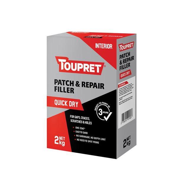 Toupret Quick Dry Patch & Repair 2kg