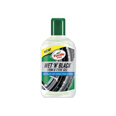 Turtle Wax Wet 'n' Black Trim & Tyre Gel 300ml