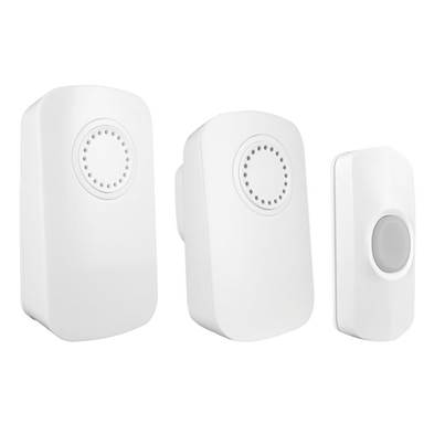 Uni-Com Smart Portable Chime & Plug-In Door Chime (Twin Pack)