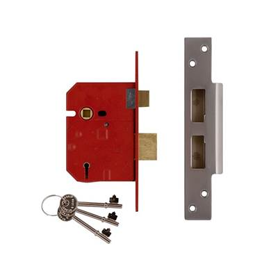 UNION 2234E 5 Lever Mortice Sashlock