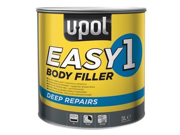 U-POL Easy 1 Body Filler 3 litre