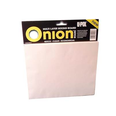 U-POL Onion Multi Layer Mixing Board 1 Pack (100 Sheets)