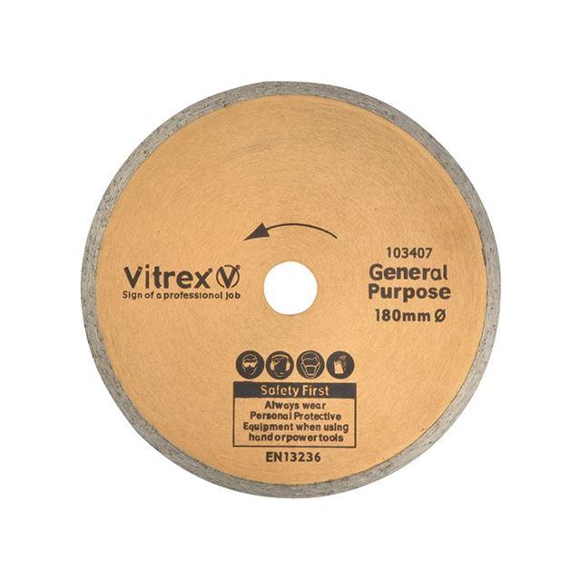 Vitrex Standard Diamond Blade 180mm