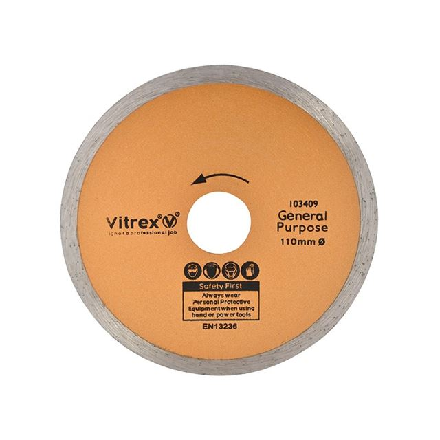 Vitrex Standard Diamond Blade 110mm