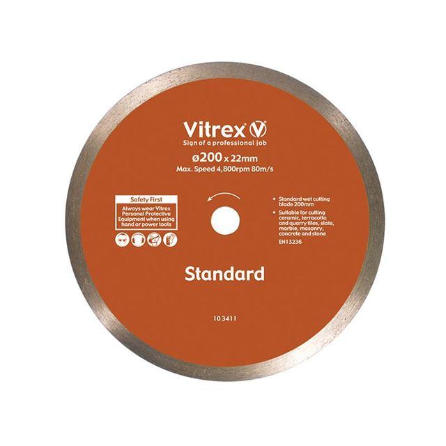 Vitrex Standard Diamond Blade 200mm