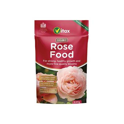 Vitax Organic Rose Food 0.9kg Pouch
