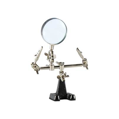 Weller Helping Hands Holder - 2 Arms & Magnifier