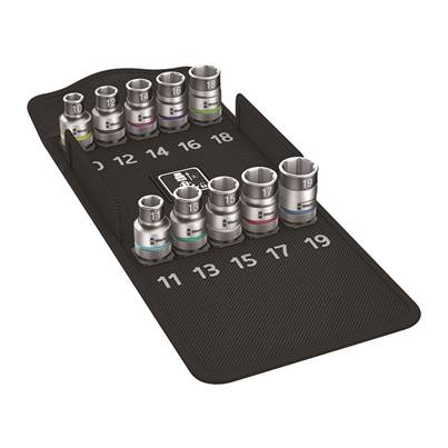 8790 HMC HF 1 Zyklop Socket Set 1/2in Drive Holding Function, 10 Piece