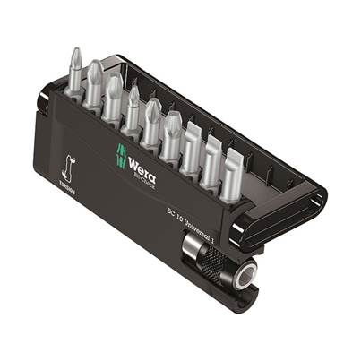 Wera Bit-Check 10 Universal 3 SB Set, 10 Piece