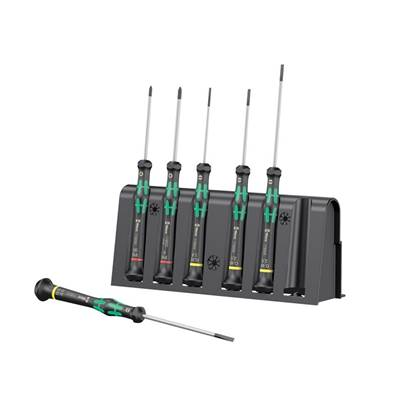 Wera Kraftform 2035/6 Micro Screwdriver Set, 6 Piece