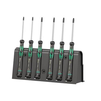 Wera Kraftform 2067 Micro Screwdriver Set, 6 Piece