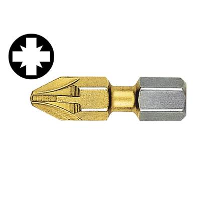 Witte Pozidriv Titanium Coated Screwdriver Bits