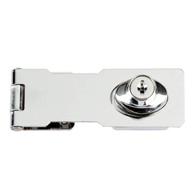 Yale Locks Y116/115 Locking Hasp Chrome Plated 116mm