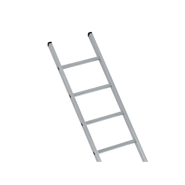 Zarges Industrial Single Aluminium Ladder 2.21m 7 Rungs